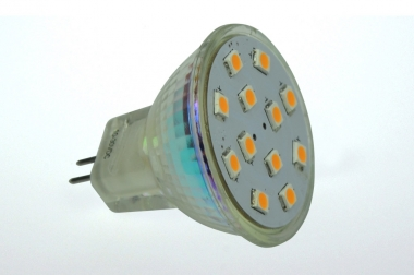GU4 LED-Spot MR11 190 Lumen Gleichstrom 10-30V DC warmweiss 2W