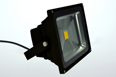 LED-Flutlichtstrahler 2500 Lumen Gleichstrom 120-230V DC warmweiss