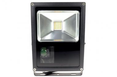 LED-Flutlichtstrahler 2700 Lumen Gleichstrom 100-240V DC warmweiss