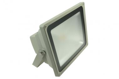 LED-Flutlichtstrahler 4500 Lumen Gleichstrom 100-240V DC kaltweiss