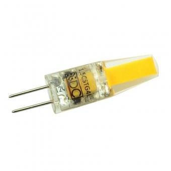 G4 LED-Stiftsockellampe 150 Lumen Gleichstrom 10-20V DC warmweiss 1,5 W
