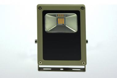LED-Flutlichtstrahler 930 Lumen Gleichstrom 120-230V DC warmweiss 15W flache Bauweise