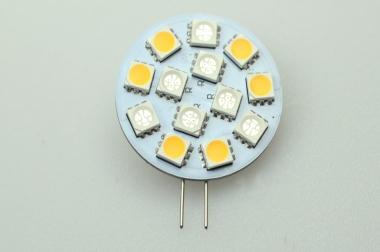 G4 LED-Modul 130/30/15 Lumen Gleichstrom 10-30V DC blau/rot/warmweiss 1,3W