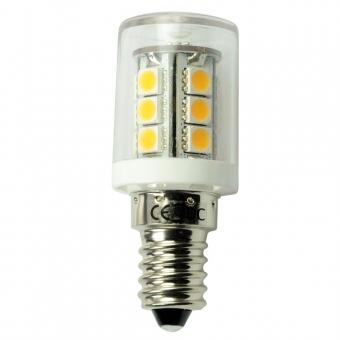 E14 LED-Stiftsockellampe 252 Lumen Gleichstrom 10-30V DC warmweiss 2,3W