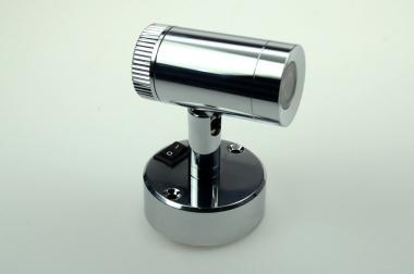 LED-Leseleuchte 120 Lumen Gleichstrom 10-16V DC warmweiss 2,5W Schalter, integrierter Dimmer
