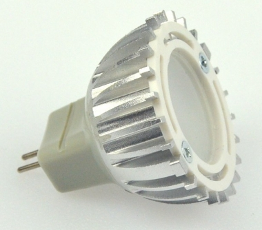 GU4 LED-Spot MR11 120 Lumen Gleichstrom 12-18V DC warmweiss 2,5W