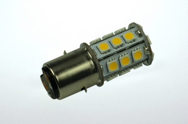 BA20D LED-Bajonettsockellampe 270 Lumen Gleichstrom 10-30V DC warmweiss 2,5W