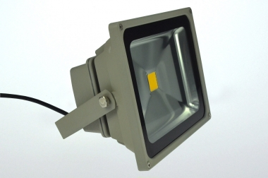 LED-Flutlichtstrahler 2500 Lumen Gleichstrom 10-28V DC warmweiss 35W Niedervolt