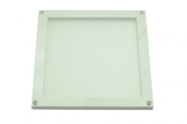 LED-Minipanel 320 Lumen Gleichstrom 12-14V DC warmweiss 5W