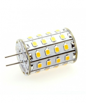 G4 LED-Stiftsockellampe 550 Lumen Gleichstrom 10-30V DC warmweiss 4,8 W