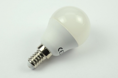 E14 LED-Globe G45 400 Lumen Gleichstrom 60-269V DC kaltweiss 3,7W