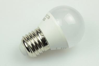 E27 LED-Globe LB45 250 Lumen Gleichstrom 110-240V DC warmweiss 4W
