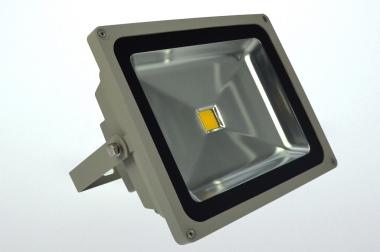 LED-Flutlichtstrahler 3700 Lumen Gleichstrom 120-230V DC warmweiss 56W
