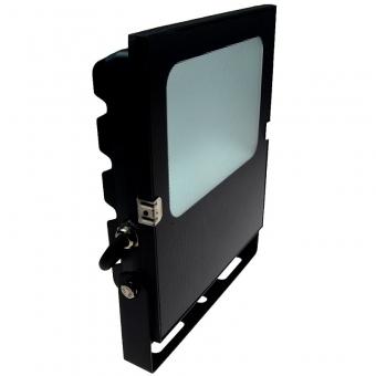 LED-Flutlichtstrahler 5500 Lumen Gleichstrom 10-30V DC warmeiss 50W flache Bauweise