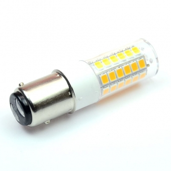 BAY15D LED-Tubular 380 Lumen Gleichstrom 10-30V DC warmweiss 3,2 W
