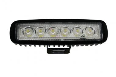 LED-Suchscheinwerfer 1000 Lumen Gleichstrom 10-30V DC kaltweiss 14W IP67