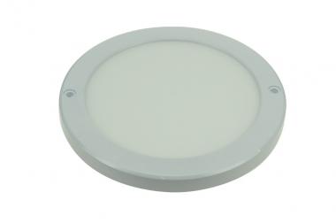 LED-Panel 1400 Lumen Gleichstrom 180-269V DC warmweiss 18 W flache Bauweise
