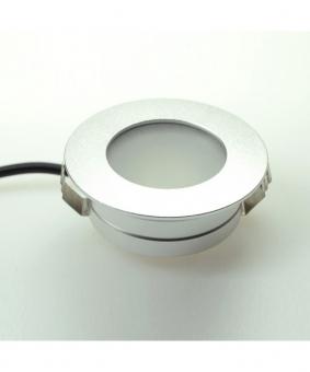 LED Bodeneinbaustrahler 150 Lumen Gleichstrom 10-30V DC warmweiss 2W IP67