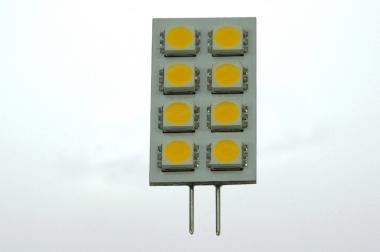 G4 LED-Modul 120 Lumen Gleichstrom 10-30V DC warmweiss 1,3W
