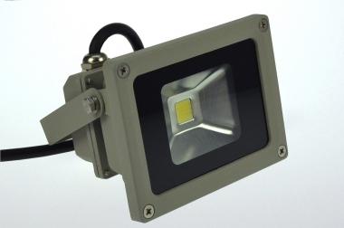 LED-Flutlichtstrahler 660 Lumen Gleichstrom 10-30V DC kaltweiss 12W Niedervolt