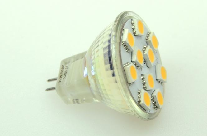 GU4 LED-Spot MR11 165 Lumen Gleichstrom 10-30V DC warmweiss 1,7W
