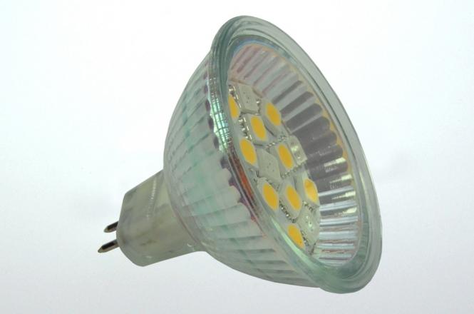 GU5.3 LED-Spot MR16 150 Lumen Gleichstrom 10-30V DC warmweiss 1,8W