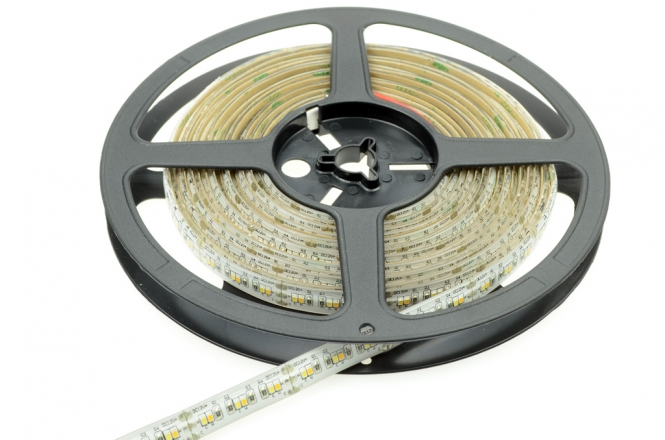 LED-Lichtband 315 ww/ 360 kw Lumen Gleichstrom 12V DC warm/kaltweiss