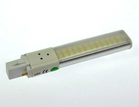 G23 LED-Kompaktlampe 480 Lumen Gleichstrom 200-240V DC neutralweiss 6W