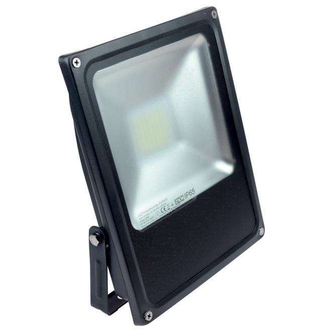 LED-Flutlichtstrahler 3200 Lumen Gleichstrom 100-240V DC kaltweiss