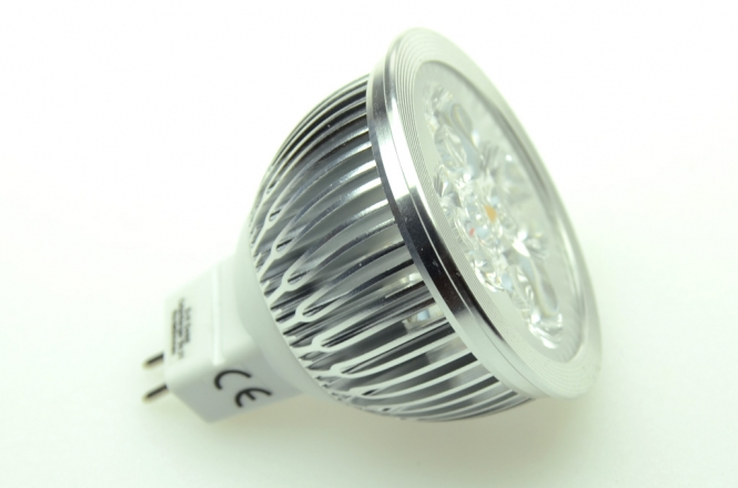 GU5.3 LED-Spot MR16 360 Lumen Gleichstrom 13,5-24V DC warmweiss 3,6