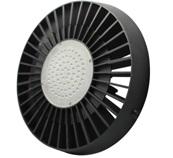LED-Hallentiefstrahler 9800 Lumen Gleichstrom 100-240V DC kaltweiss 100W Toshiba LED