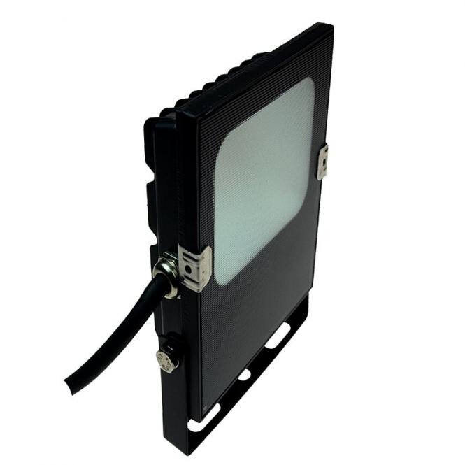 LED-Flutlichtstrahler 1100 Lumen Gleichstrom 10-30V DC warmweiss 10W