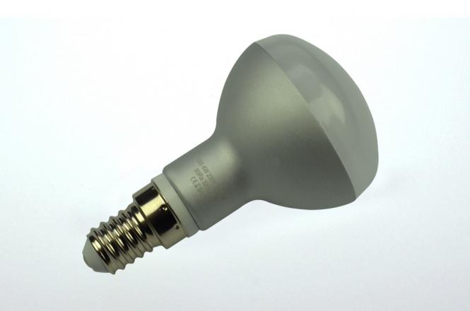 E14 LED-Reflektorlampe 340 Lumen Gleichstrom 80-230V DC warmweiss 4W