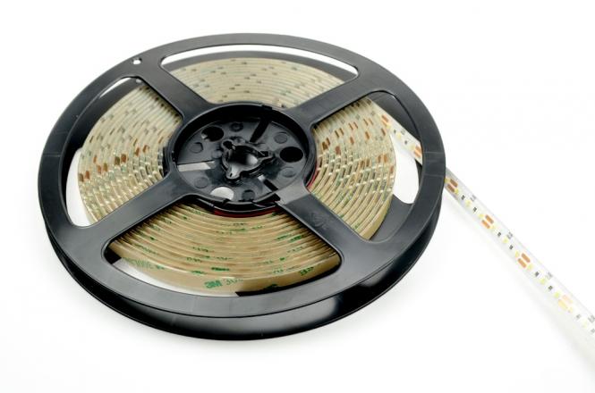 LED-Lichtband 840 Lumen Gleichstrom 12V DC kaltweiss 48W IP54 Silikon, CRI >90