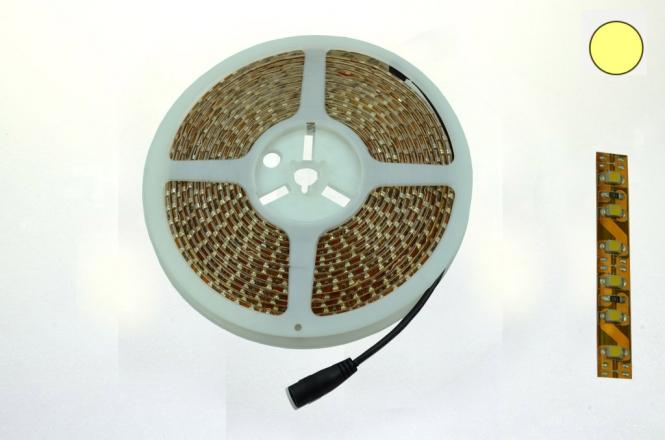 LED-Lichtband 640 Lumen Gleichstrom 12V DC kaltweiss 45W 120 Dioden/m
