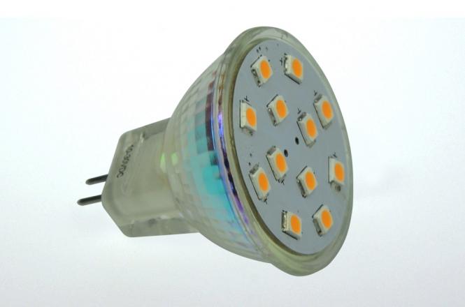 GU4 LED-Spot MR11 190 Lumen Gleichstrom 10-30V DC warmweiss 2W