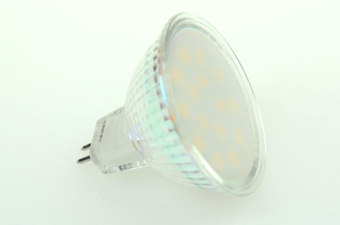 GU5.3 LED-Spot PAR16 240 Lumen Gleichstrom 10-30V DC warmweiss 2,6W
