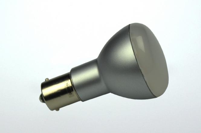 BA15S LED-Bajonettsockellampe 200 Lumen Gleichstrom 10-30V DC warmweiss 2,2W