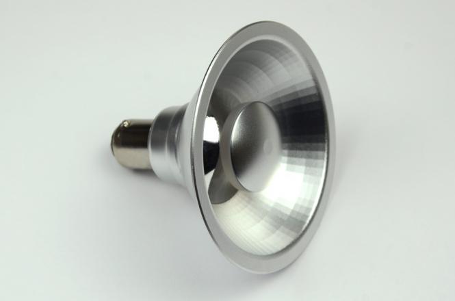 BA15D LED-Bajonettsockellampe AR70 550 Lumen Gleichstrom 10-16V DC warmweiss 8W