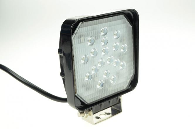 LED-Suchscheinwerfer 1800 Lumen Gleichstrom 10-30V DC kaltweiss 18W IP67