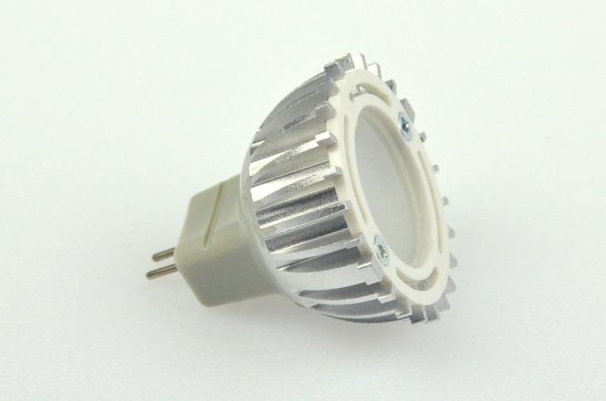 GU4 LED-Spot MR11 150 Lumen Gleichstrom 12-18V DC kaltweiss 2,5W