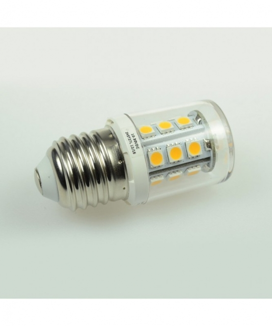 E27 LED-Tubular 250 Lumen Gleichstrom 10-30V DC warmweiss 2 W