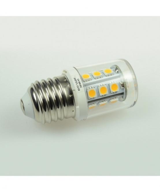 E27 LED-Tubular 250 Lumen Gleichstrom 10-30V DC kaltweiss 2 W