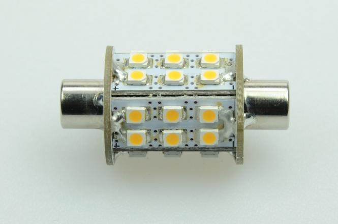 S8x42 LED-Soffitte 180 Lumen Gleichstrom 10-30V DC warmweiss 1,8W