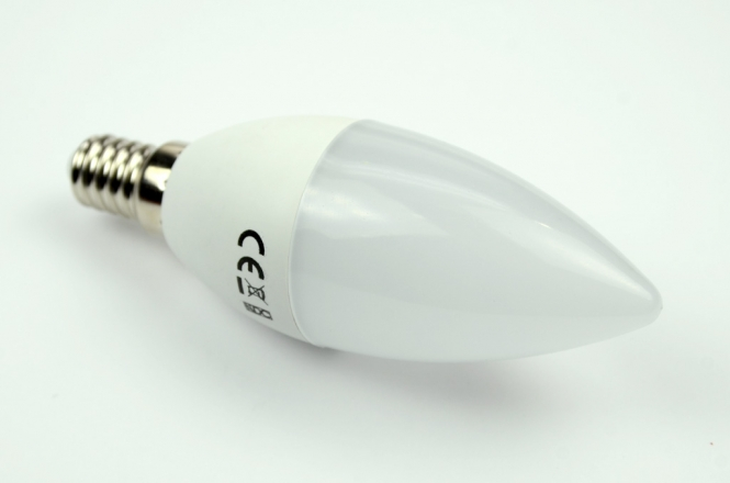 E14 LED-Kerze 470 Lumen Gleichstrom 60-295V DC kaltweiss 4,5 W