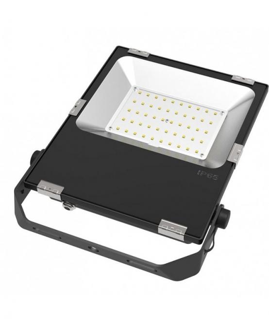 LED-Flutlichtstrahler 5500 Lumen Gleichstrom 80-269V DC kaltweiss 50W für extreme Luftfeuchte
