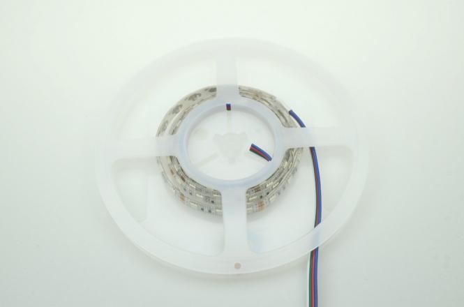 LED-Lichtband 210 Lumen Gleichstrom 12V DC RGB 14,4W Seqeunz +GRB