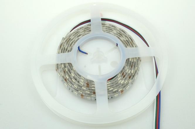 LED-Lichtband 210 Lumen Gleichstrom 12V DC RGB 28,8W Seqeunz +GRB