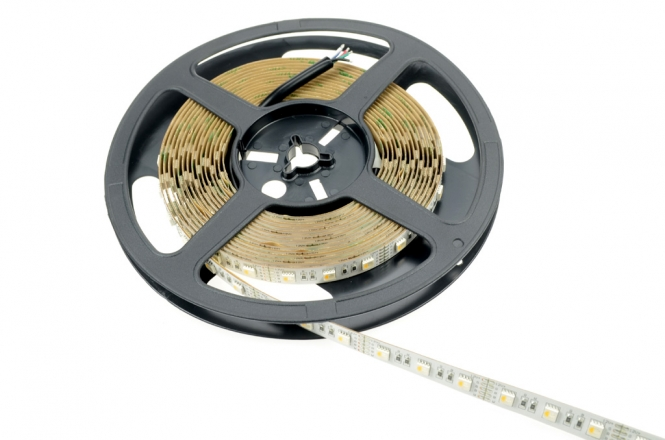 LED-Lichtband 360 Lumen WW Lumen Gleichstrom 12V DC RGB/warmweiss 90W RGBW - 4er Chip