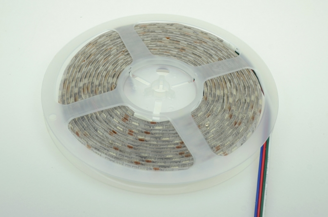LED-Lichtband 290 Lumen Gleichstrom 12V DC RGB 72W Sequenz +BRG